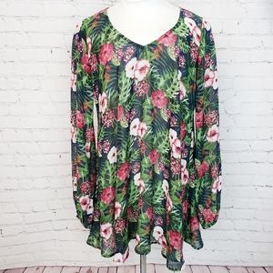 Show Me Your Mumu Donna Michelle Tunic In H